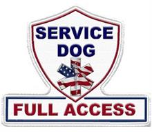Service Dog Full Access Patch