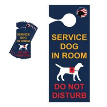 service dog door hanger