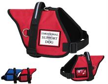 red Padded Working Dog Vest